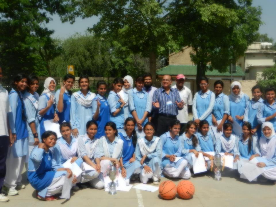 Basket Ball CHapions (GIRLS)